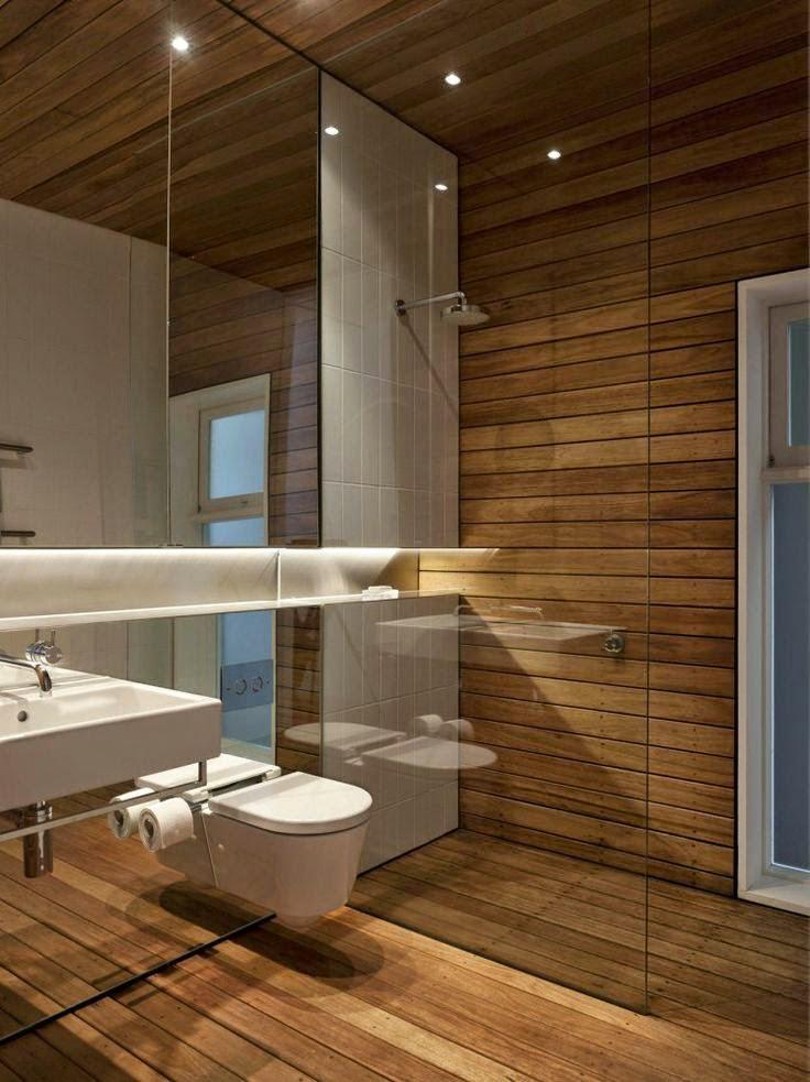 Bagno Lungo: Come arredare un bagno lungo e stretto usando i colori.