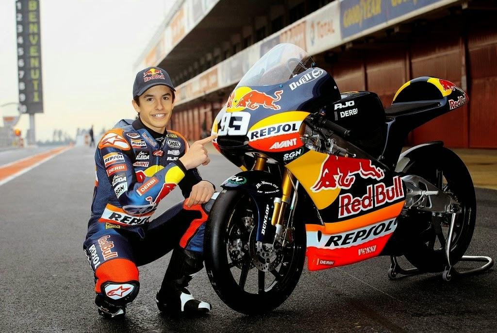 Motor Marc Marquez Derbi GPR125cc