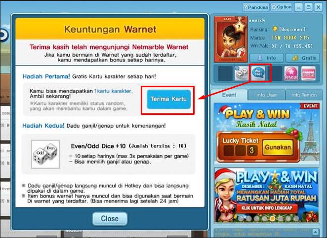 Cara Mudah Install Netmarble Warnet Dirumah Gratis