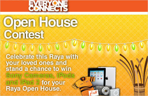 Everyone Connects 'Open House' Contest