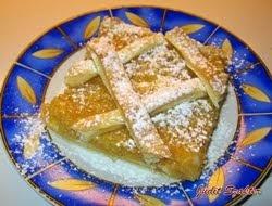 Pudingos almás pite