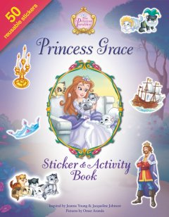 Book review of the Princess Grace Sticker & Activity book for children ages 4-8 from Zondervan.