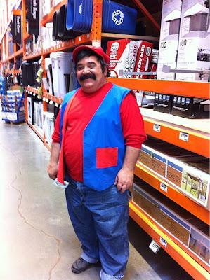 Hemos encontrado a Super Mario en el trabajo