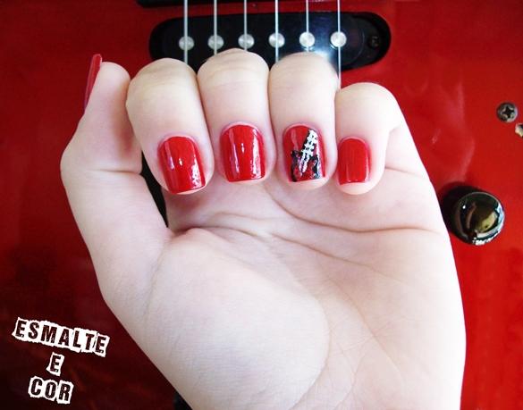 unhas-vermelhas-nail-art-guitarra-unhas-mais-guitarra-unhas-vermelhas-inpiração-cor-desafio-das-31-unhas-inpirações-cor-vermelho-ibanez