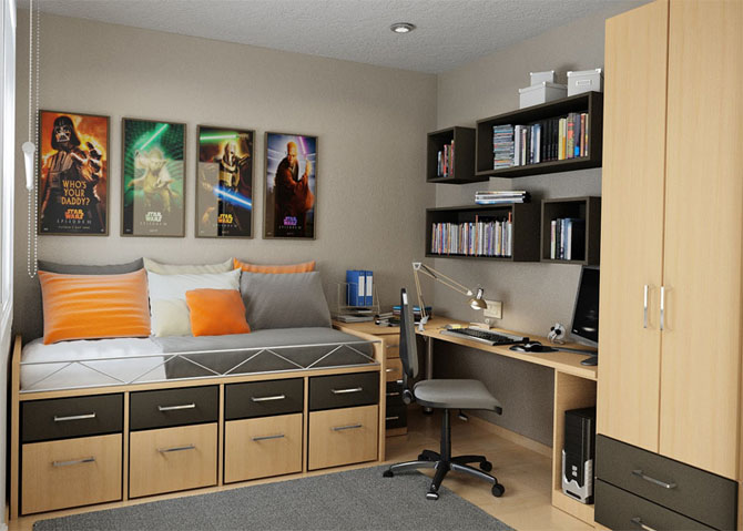 House Designs: Top 15 Modern Teenagers Room Interior Design Ideas