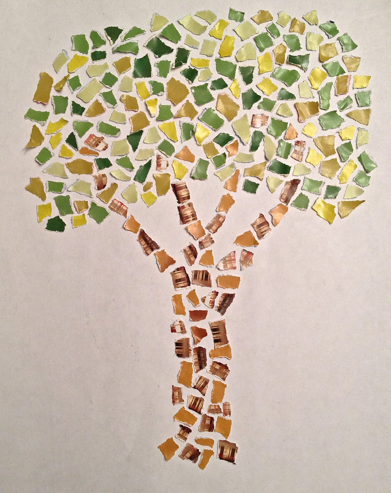 The daily tree 54 365 mosaic tree