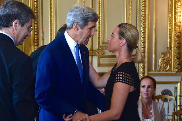¿Mogherini esclava MK Ultra controlada por Kerry?