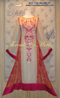 Pakistani Salwar Kameez Long Shirts With Trousers