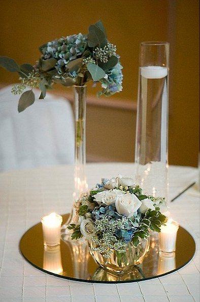 Decorar mesas bodas centros mesa con velas para boda una picture car interior design - Centro mesa velas ...