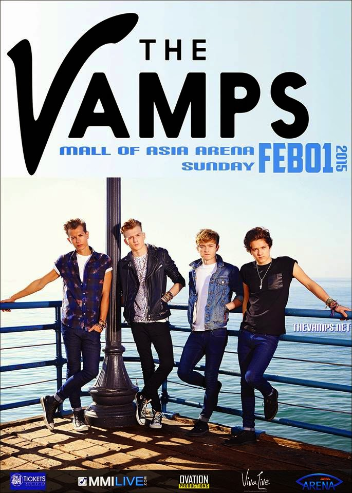 Meet The Vamps Tour: The Vamps Live in Manila