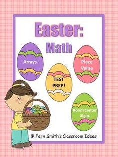 Fern Smith's Easter - Math Centers and Math Lessons