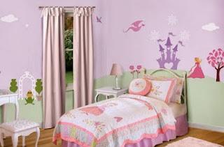vẽ tranh tường, vẽ tranh tường phòng ngủ