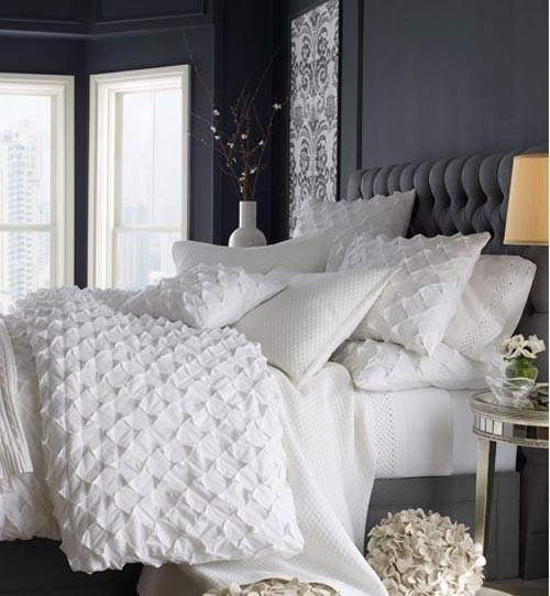 Dormitorios con paredes grises dormitorios con estilo for Habitacion matrimonio gris