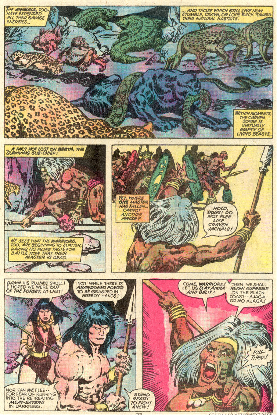 Conan the Barbarian (1970) Issue #97 #109 - English 14
