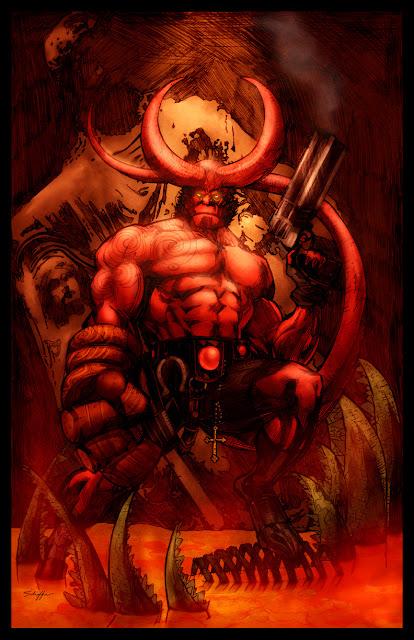 Imagen de Hellboy comic