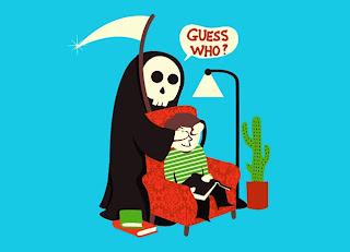 "Muerte pregunta ""Guess who?"""