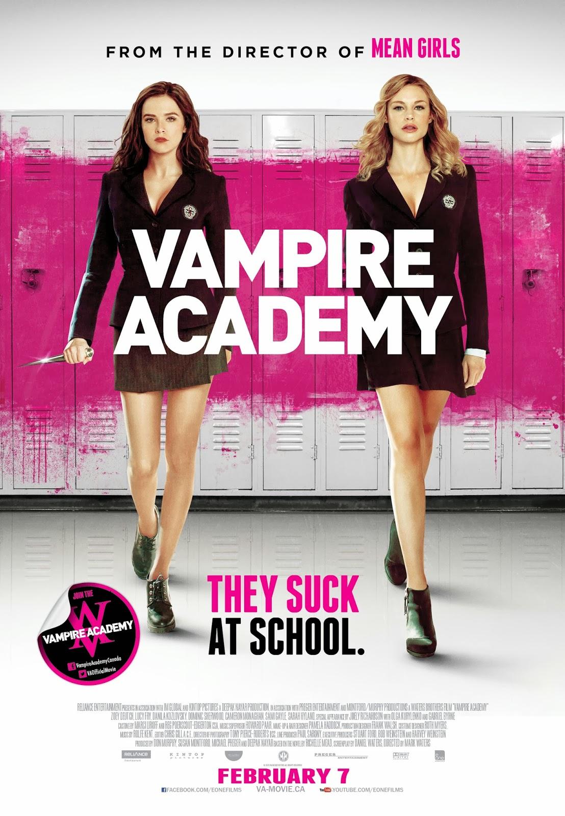 Vampire Academy (V.O.S) (2014)