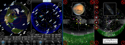 iTunes and Android Astronomy Apps