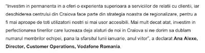Comunicat de presa Vodafone Romania