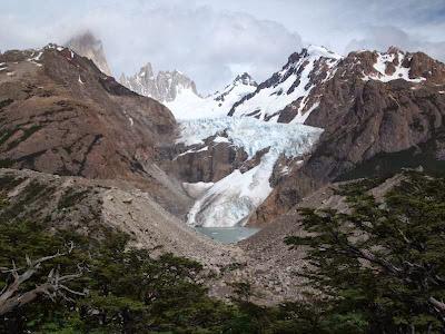 Glaciar en El Chaltén