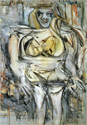 Famous Painting Woman III by William de Kooning, 1953