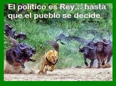 El político y el pueblo...