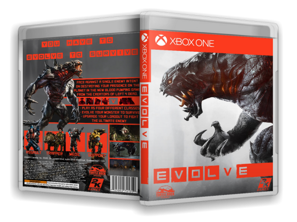Capa Evolve Xbox One