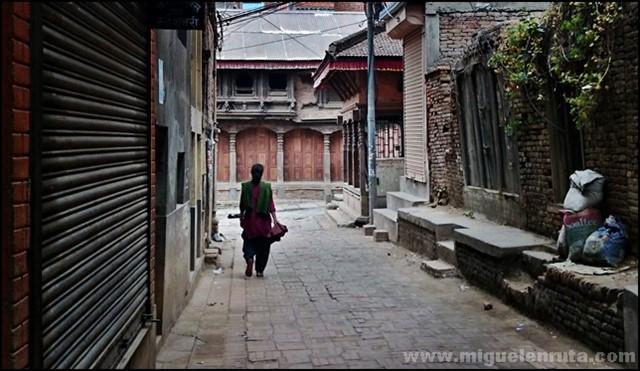 Patan-streets-Nepal