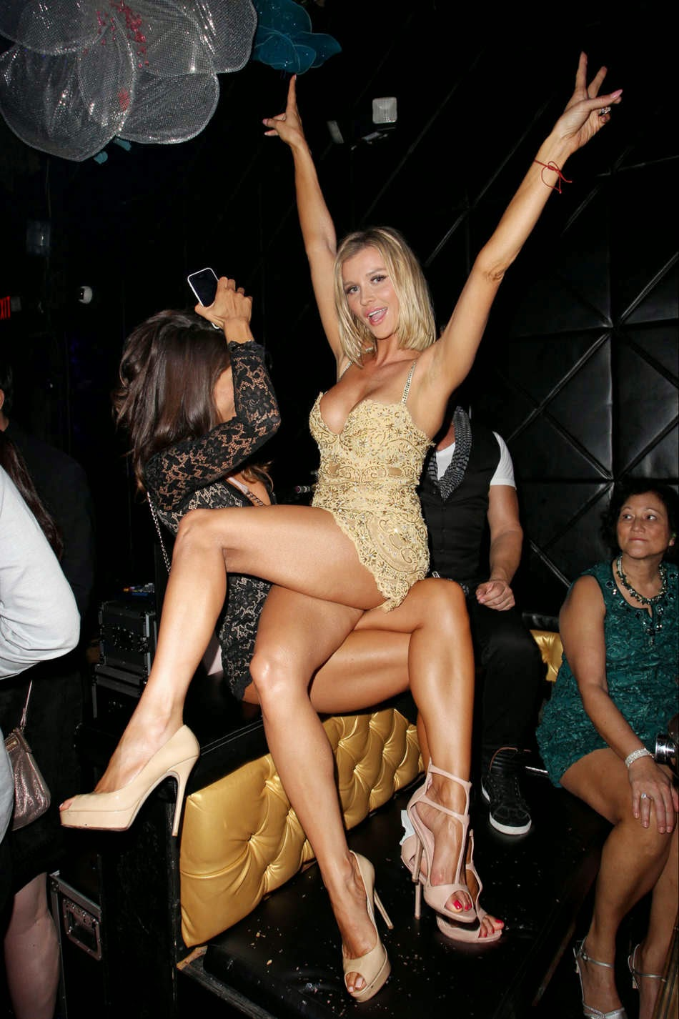 Actress, Model: Joanna Krupa Celebrates Mynt's 13th Anniversary in Miami
