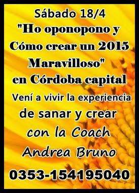 gran seminario en cordoba Andrea Bruno