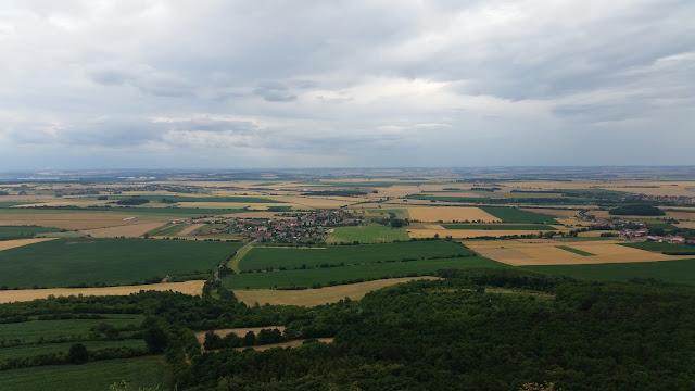 """výhled z Hory Říp // view of """"Říp"""" Mountain"""