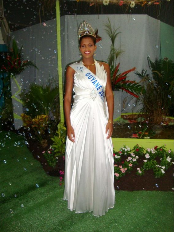 Miss Guyane-Anaele Veilleur
