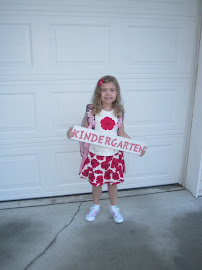 Samantha's 1st Day Of Kindergarten!