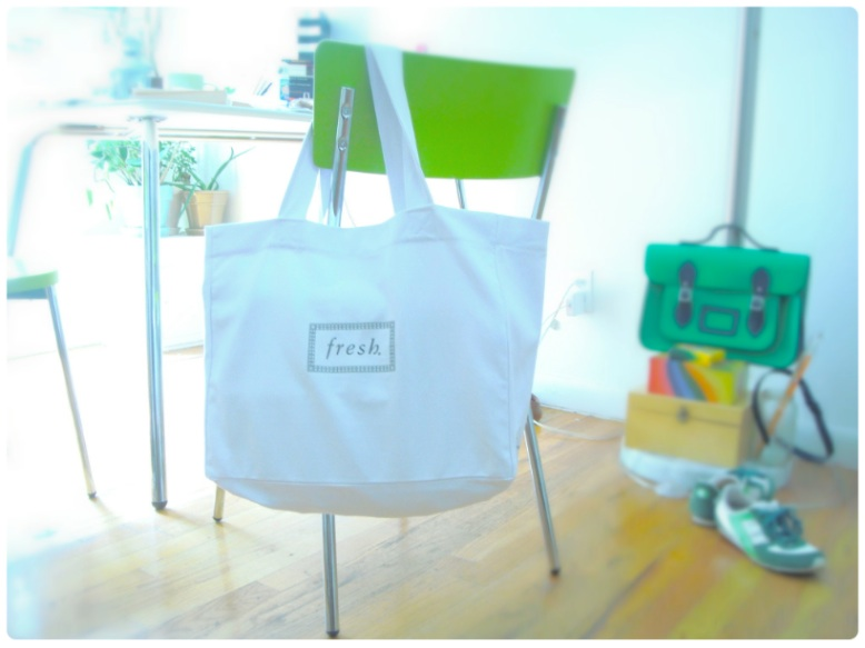 Tote bag from Fresh