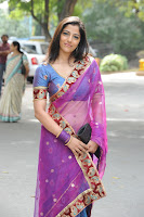 Cute, Nishanthi, In, A, Transparent, Saree