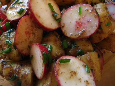 Potato Radish Salad