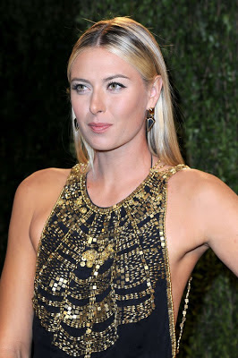 Maria Sharapova Oscar-2013 Vanity-Fair-Party Dresses