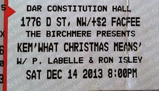 Image of Kem concert ticket