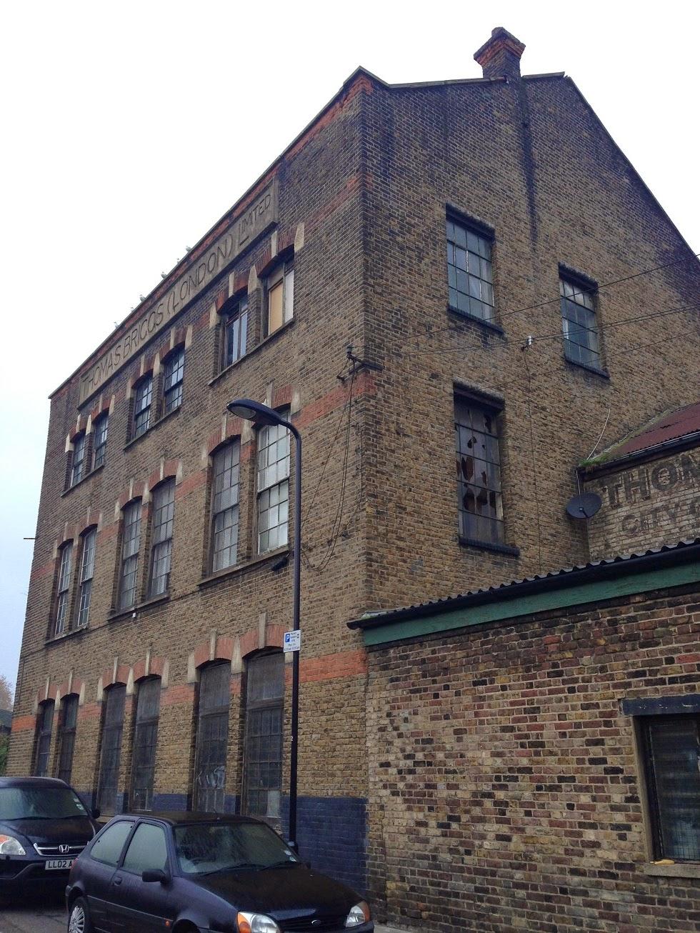 Thomas Briggs Factory, de Beauvoir Town, London N1