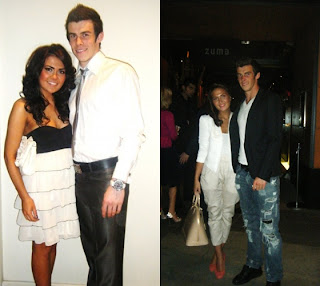 Gareth+Bale+and+Girlfriend+Emma+Rhys