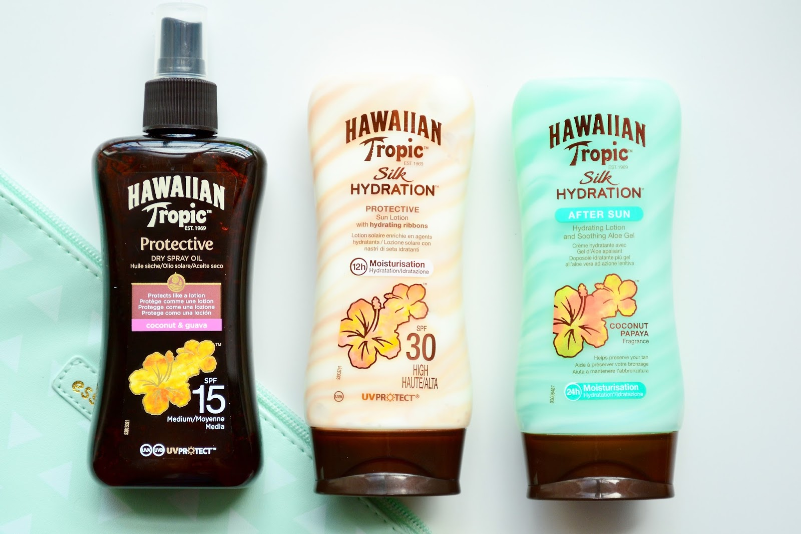 Hawaiian Tropic Silk Hydration, Hawaiian Tropic Body Butter, Banana Boat Aloe Gel