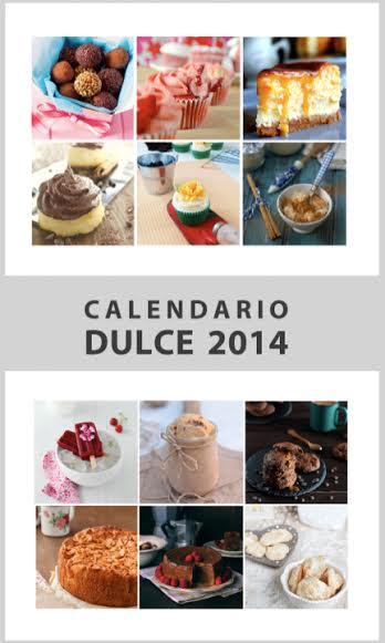 Descárgate gratuitamente el Calendario Dulce 2014