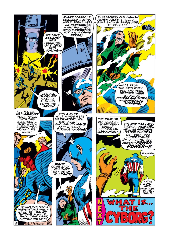 Captain America (1968) Issue #123 #37 - English 21