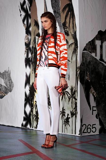 Tendência da moda 2015 - padrão zebra calças