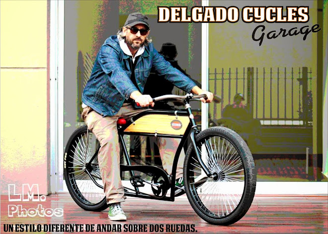 Delgado Cycles Garage - Bicicletas exclusivas urbanas vintage retro fixie chopper kustom -