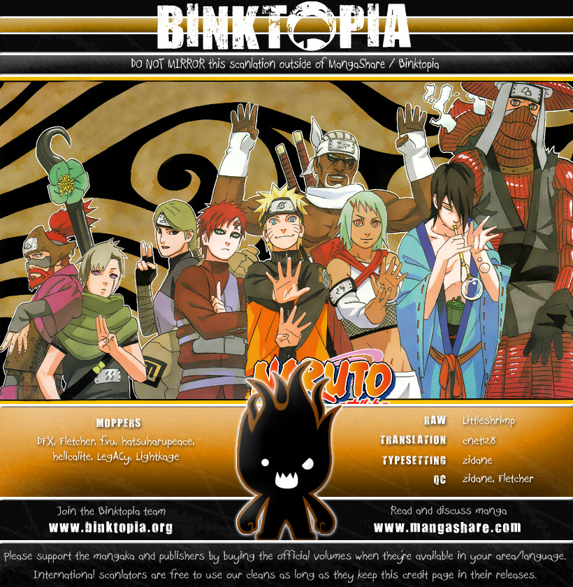 Naruto chap 445 Trang 19 - Mangak.info