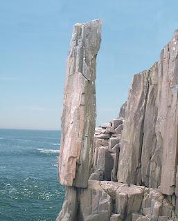 Balancing Rock, Digby, Nova Scotia
