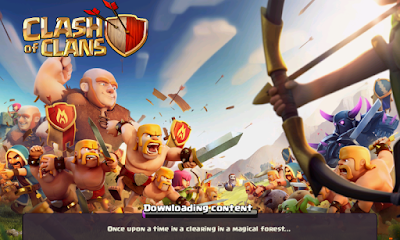 Clash Of Clans Downloading Content