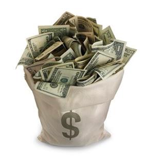 çuval dolusu para