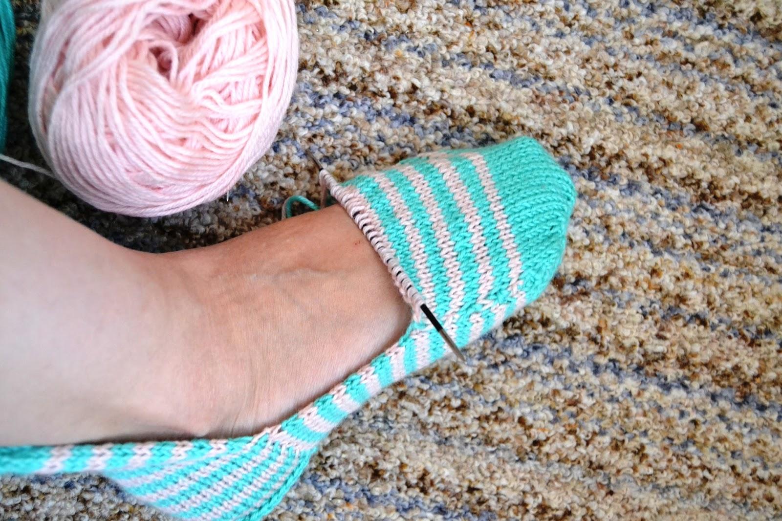 Супер быстрые носки - Вязание - Страна Мам 12